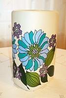 Retro, Hollóházi porcelán váza