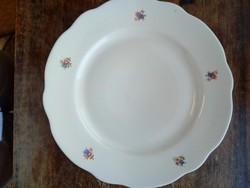 Régi, Zsolnay,apró virágos tányér 4db