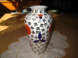 Zsolnay , szép , antik váza  átm.80 x150   mm