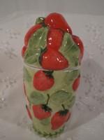 Porcelán - Dzsem tartó -  Villeroy & Boch - 12 x 6 cm hibátlan