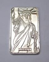 MTB Liberty USA 999 befektetési ezüsttömb 1 uncia.