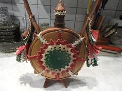 Magyar népművészeti kulacs