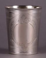 Antik ezüst pohár - 1805