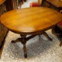 XVI.Lajos étkezőasztal  130x100x78 amely 210x100x78 ra nagyobbitható.