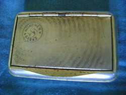 SS német fémből készült dohány tálca