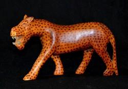 Leopárd szobor, párduc szobor
