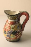 Art Deco fajansz kancsó, váza, kiöntő