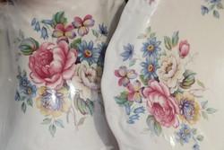 Antik  virágos  mosdó szett