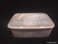 Herendi porcelán Bakos Éva bonbonier doboz