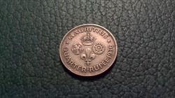 Nagyon szép Mauritius 1/4 ezüst rúpia 1936, 2,9 g.