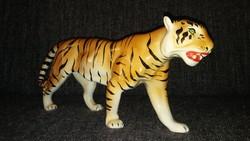 Antik hatalmas porcelán tigris