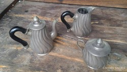 Antik Kávés Szett