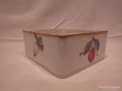 Herendi porcelán doboz alj