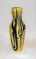 Igen ritka madaras Gorka Lívia kerámia váza