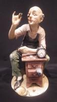 A.B. Capodimonte porcelán órásmester