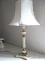 Gyönyörű réz-márvány díszítésű lámpa!