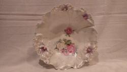 R S Prussia meseszép porcelán dísztál