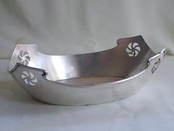 Antik szép ezüstözött szecessziós Art Krupp Berndorf kínáló.