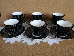 Antik Gránit art deco kávés készlet.