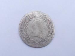 I. Ferenc 20 Krajcár 1820 B
