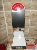 Világító Coca Cola reklám dekoráció