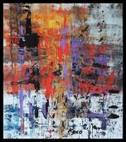 """""""Tűz ,tűz """" Koso festmény keretes akció"""