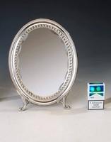Ezüst neobarokk tükör