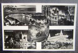 Régi képeslap Budapest  1927