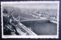 Régi képeslap Budapest  Panoráma 1941