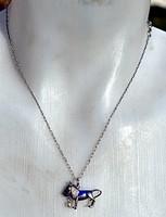 Káprázatos antik 925 ezüst ékszer igazgyöngyel + 46cm-es 925 ezüst lánccal.