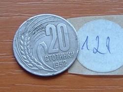 BULGÁRIA 20 CTOTINKI 1952 RITKÁBB!!!! 121.