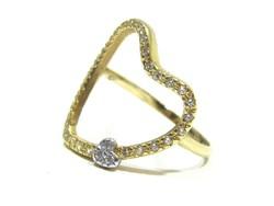 Női arany gyűrű ( Kecs-Au71518)