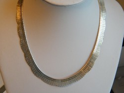 Széles,925-ös Olasz ezüst Colié