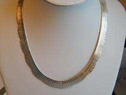 Széles,925-ös,35.60gr,Olasz ezüst Colié