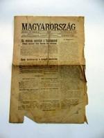 1917 február 26  /  Magyarország  /  RÉGI EREDETI ÚJSÁG Ssz.: 943