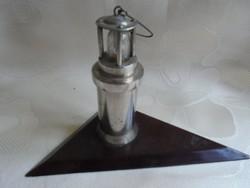 Elemes lámpa bányász relikvia