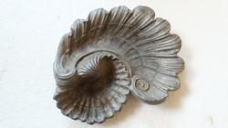 Régi fém kagyló alakú hamuzó hamutartó hamutál