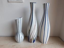 Aquincum porcelán art deco váza