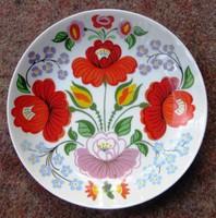 Retro hollóházi porcelán falitányér átmérő 15 cm