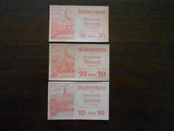 Ausztria Imbach notgeld sor
