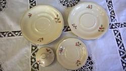 MCP tea-,kávé alátét tányérka, cukortartó tető-pótlásnak  db-ra !
