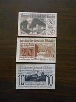 Ausztria Abstetten notgeld sor