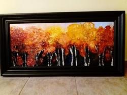 Varázslatos ősz - Izzó  őszi erdő