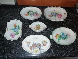 Antik porcelán hamus gyűjtemény hibátlan állapotban vannak