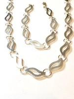 Álomszép ezüst nyaklán és karkötő szett