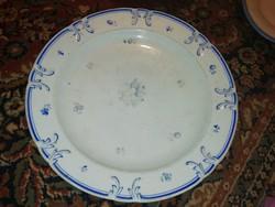 Eladásra kínálok antik porcelán kínáló kék virágos