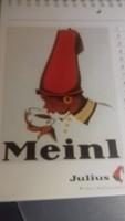 Julius Meinl 19/20. századi plakátok válogatása (12 db)