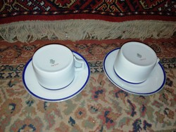 Eladásra kínálok Zsolnay teás 2 db csésze és 2 db alj hibátlan állapotban