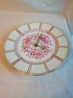 Herendi Waldstein mintás porcelán falióra, tányéróra, óra