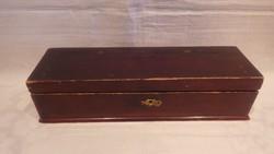 Antik szecessziós fa doboz